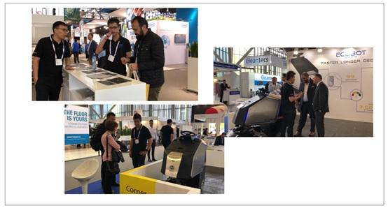 再扩海外市场版图高仙清洁机器人首秀ISSA荷兰清洁展【生活热点】