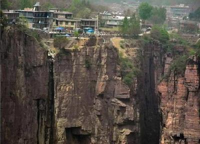 中国最奇特的村子国家花数亿为其造梯子
